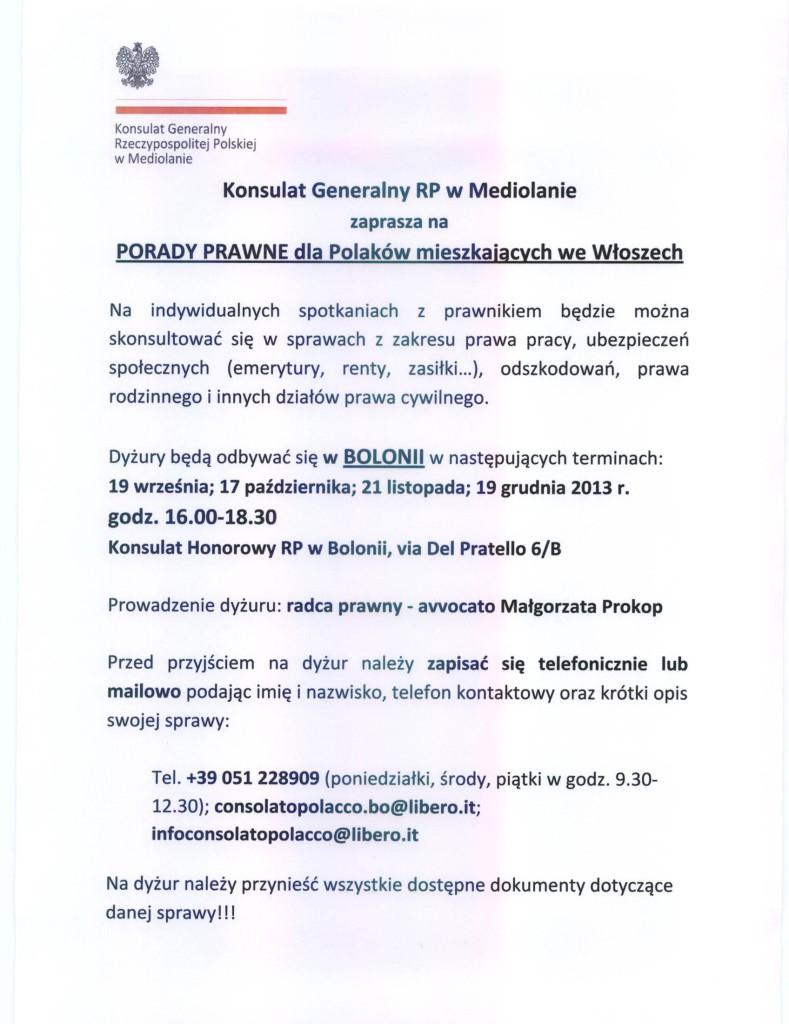 dyzury_konsulatu_polacy_we_wloszech