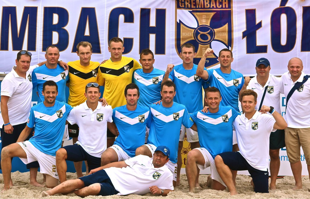 GREMBACH LODZ - PICTURE OF TEAM 2012