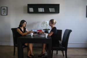 od lewej: Marta Krupanek, Sara Matyas