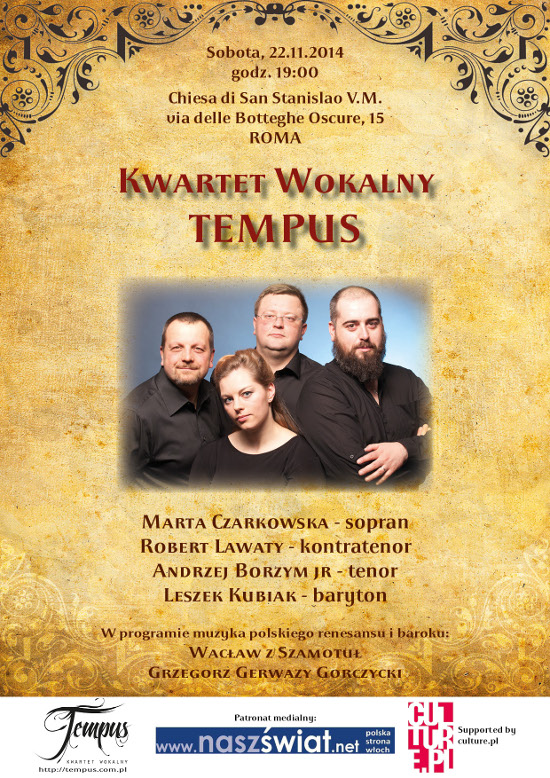 kwartet_tempus_Rzym_polacy_we_wloszech