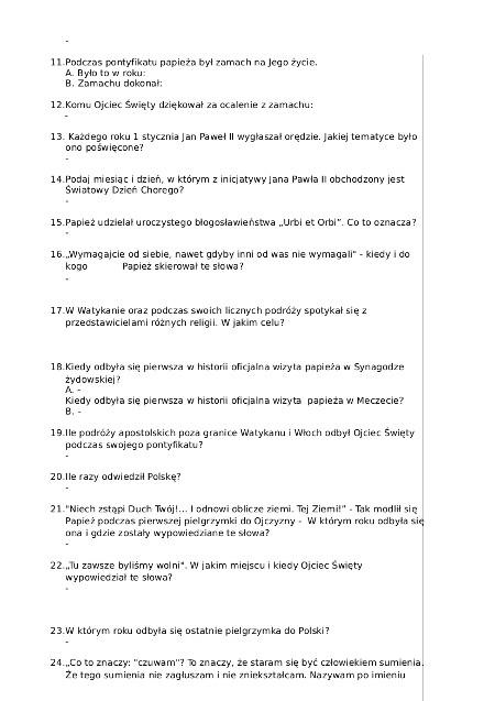 2 C KONKURS JAN PAWEL II - OSOBY PELNOLETNIE