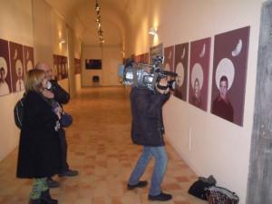 RAI 3 podczas mojej wystawy