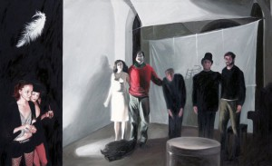 TEATR ,2009,obraz opublikowany w albumie EXPECTATIONS BERLIN-NEW YORK