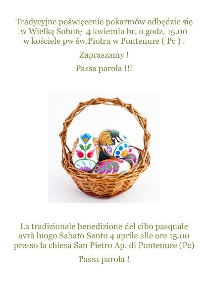 Wielka Sobota Sabato santo_polacy_we_Wloszech