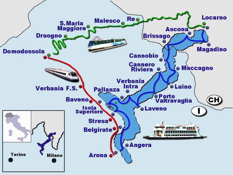 Cartina maggiore