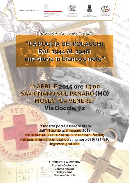 locandina_Savignano_polacy_we_wloszech