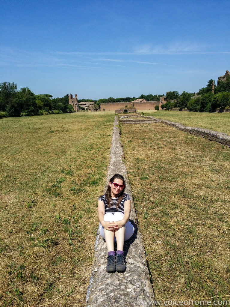 Cyrk Maksencjusza Via Appia Antica