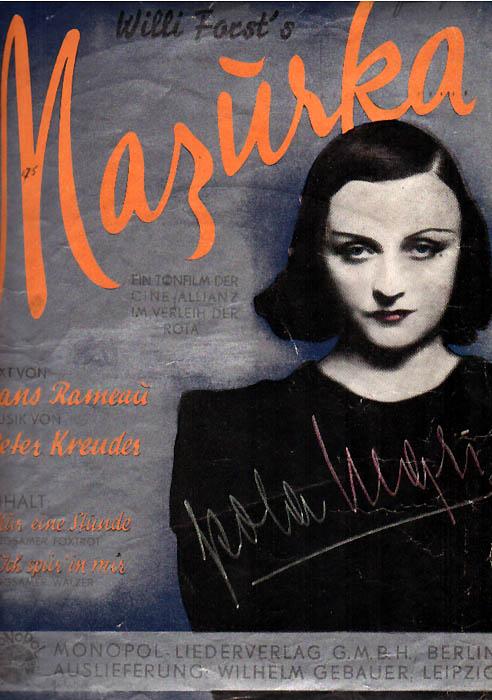 Mazurka z autografem