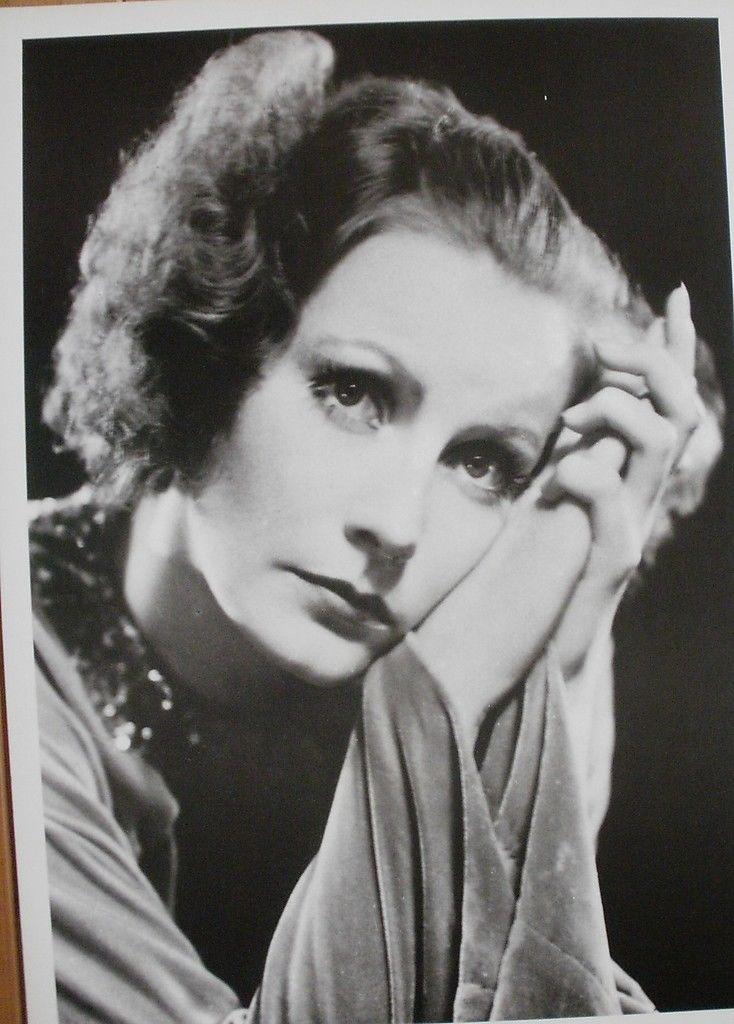 Greta Garbo portret