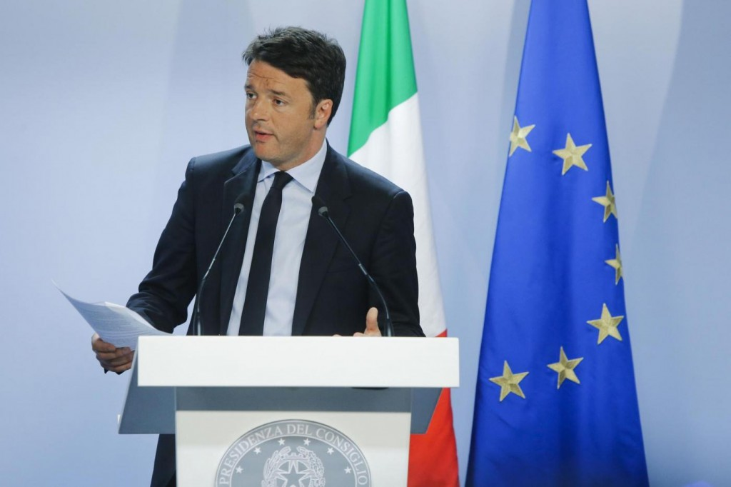 Premier Matteo Renzi fot. notizie.tiscali.it